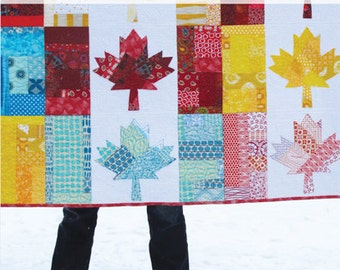 Oh Canada Quilt Pattern - PDF