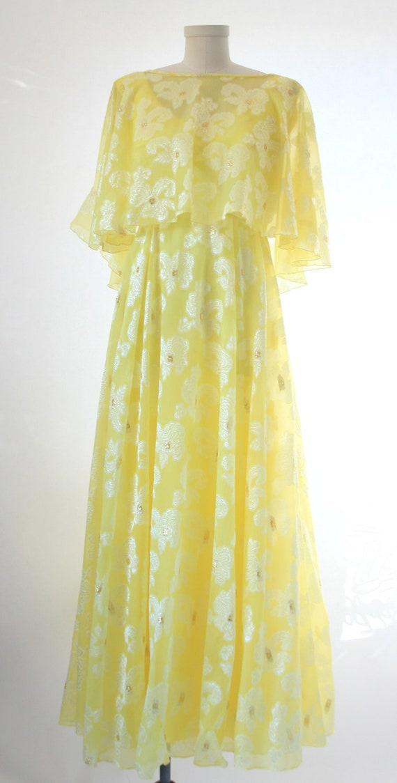 DFI - Don-Ell Fashions Vintage Yellow Dress Size 8-10