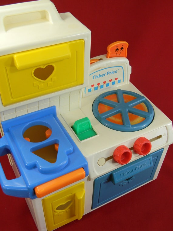 fisher price activity center kitchen stove by lillysluckypenny