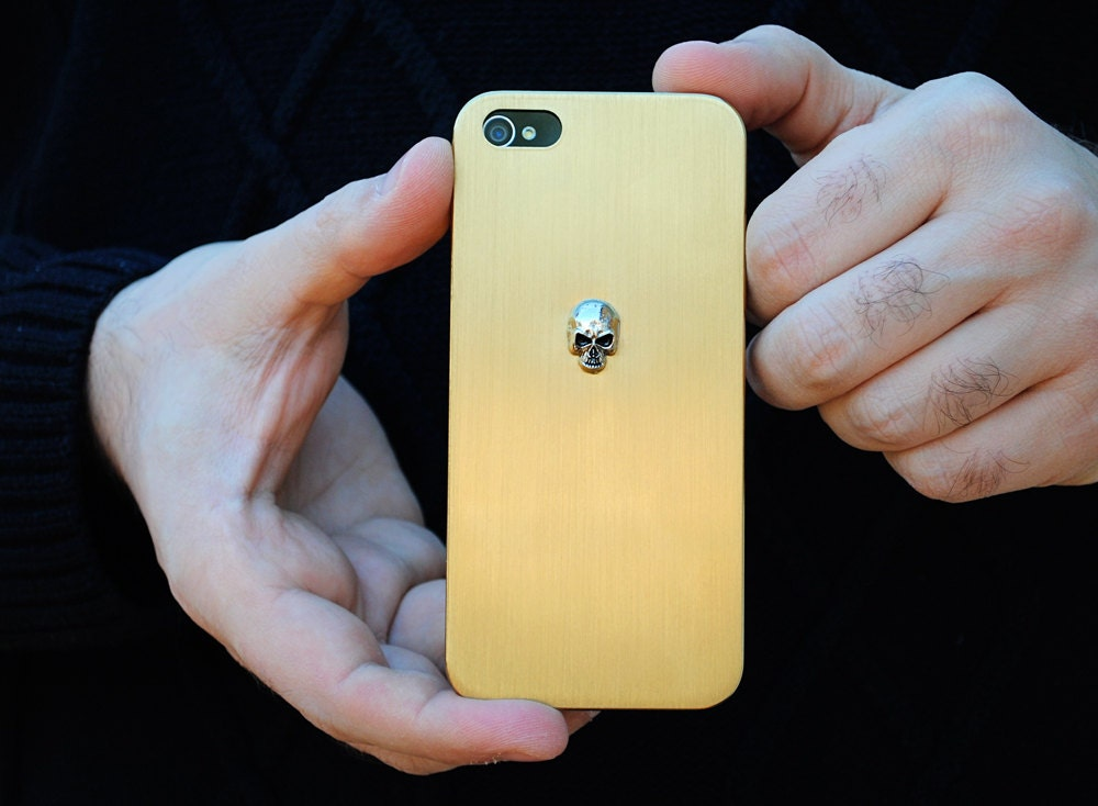 Rose Gold Iphone 5s Gold Iphone Case Skull 5 5s