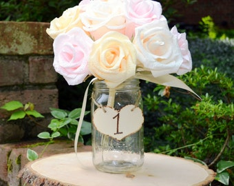 15 Rustic Table Numbers