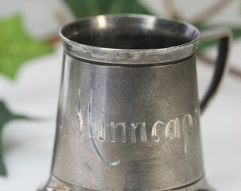 Vintage Silverplated Toothpick Holder - Standard  S.W. Co