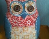 Owl Plush Pillow Toy
