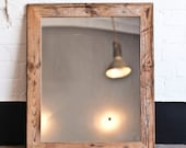 Georgia Railway Series - Large Boxcar Pine Mirror