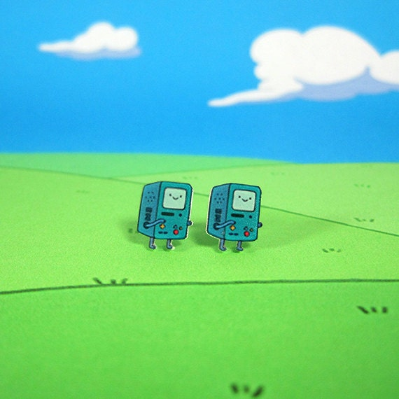 Adventure Time Earrings BMO