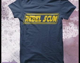 "Star Wars T-Shirt ""Rebel Scum"" Men's"