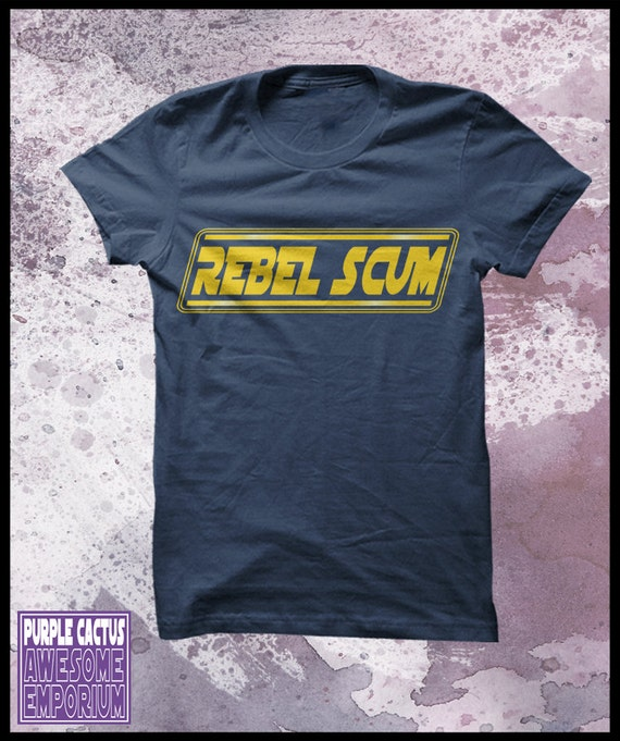 "Star Wars T-Shirt ""Rebel Scum"" Men's"