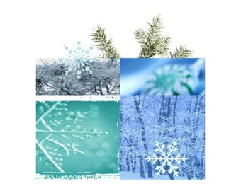 Sachet Winter Wonderland Just Because Gift Personalized Great Stocking Stuffer Minty Winter Fragrance Pine Packet Favor
