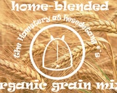 Organic Hamster Grain Mix . hesedetang's Homeblend 200 or 500 grams
