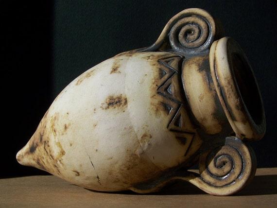 Classical Athenian pottery Inspired Ceramic Rhyton