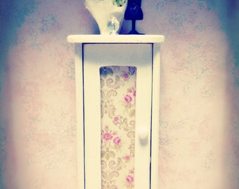 Miniature Shabby Chic Linen Closet