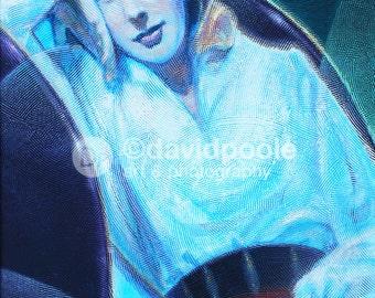 Ingrid Bergman Art Deco. Photography Print of painting 8x10 Fine Art New York City