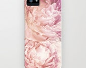 Technicolor Pink Flower iPhone Case - Hard Plastic iphone 4 or iphone 5 Case with artwork