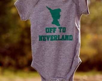 Off to Neverland Bodysuit (You Choose Size)