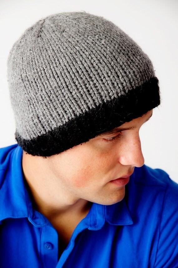 Lining Knit Hat Knitted Men's Fleece Lined