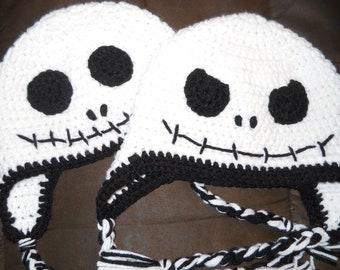 Skeleton Ski Hat