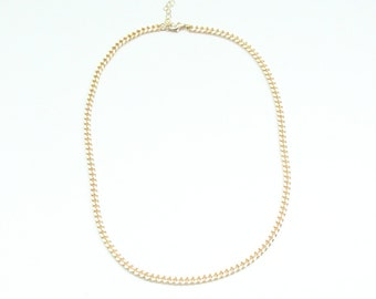 mini Chunky Chain necklace - 24k gold plated - statement bib