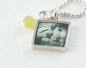 Instagram Necklace | Custom Photo Pendant | Silver Photo Necklace | Personal Gift | Gift for Teen | Instagram Pendant | Photo Jewelry