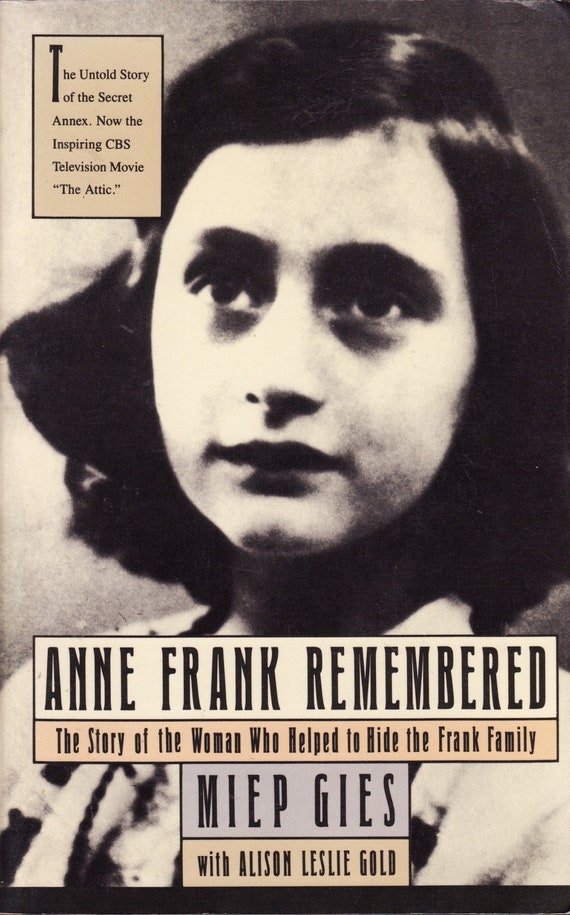 anne frank remembered Anne frank remembered is a documentary film directed by jon blair focusing on the story of anne frank, one of the world's most renowned victims of the holocaust, who, at age thirteen, began chronicling what life was life for jews in the netherlands during the holocaust as her family went into hiding and were eventually arrested.
