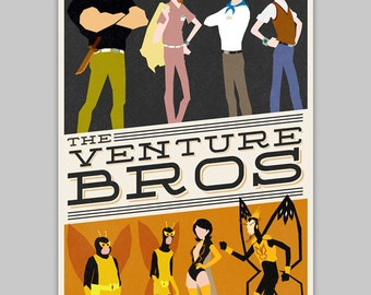 The Venture Bros poster