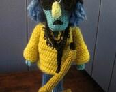 Zoot Muppet Inspired Crochet Pattern
