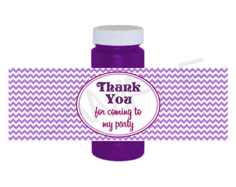 Bubble Bottle Labels - Create Your Own Printable - 4 oz. bottles - NEW Fall/Winter 2013 Colors