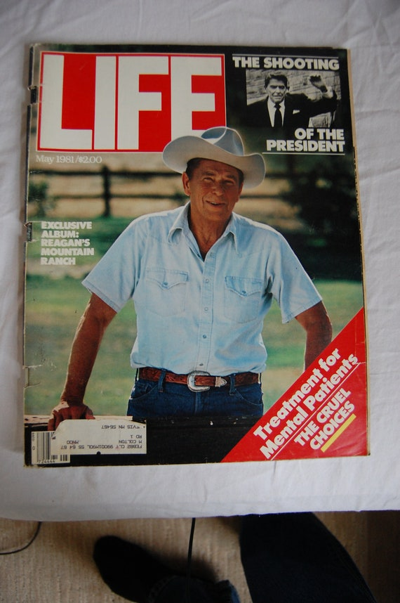1981 Life Magazine President Ronald Reagan