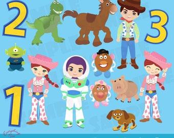 Clip Art Toy Story Clipart toy story clip art etsy toys set