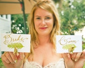 Animal Wedding Favor that can double as Placecard holders - Any color and animal you like