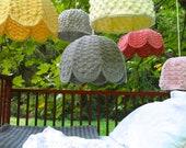 Lampshade Crochet Handmade Textured Custom Lamp Shade(s)
