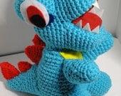 inspired Amigurumi Crochet water lizard plush