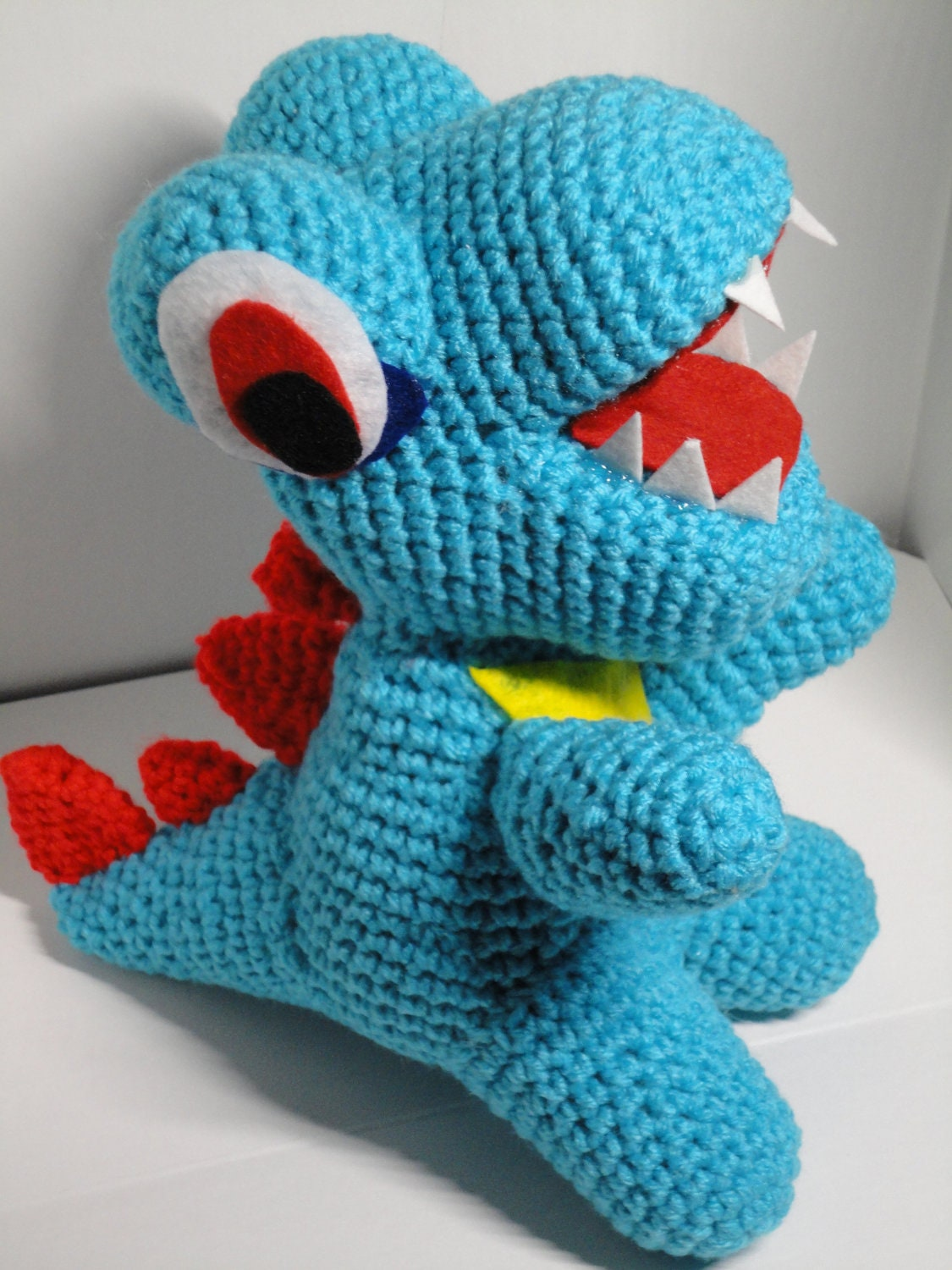 Amigurumi Halloween Free Patterns : inspired Amigurumi Crochet water lizard plush