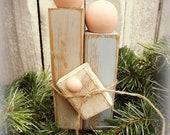 Primitive Nativity Set Christmas -FREE SHIPPING