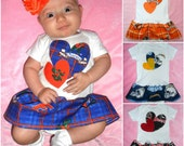 NFL/College Football Team Baby Onesie Dress...pick your team