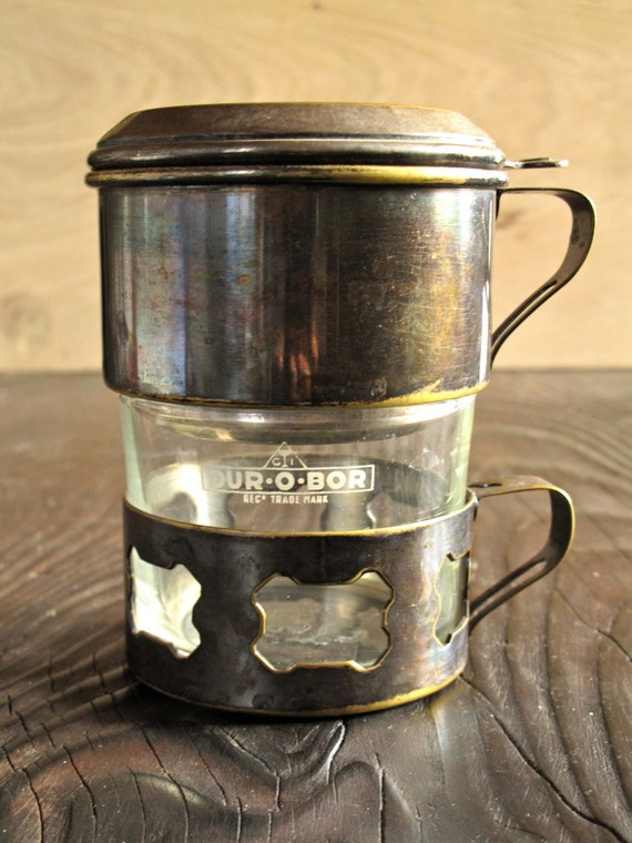 Christmas Sale Vintage 1930s Drip Coffee Maker French