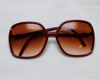 "80s Vintage ""CITY VIEW"" BIG Frame Sunglasses"