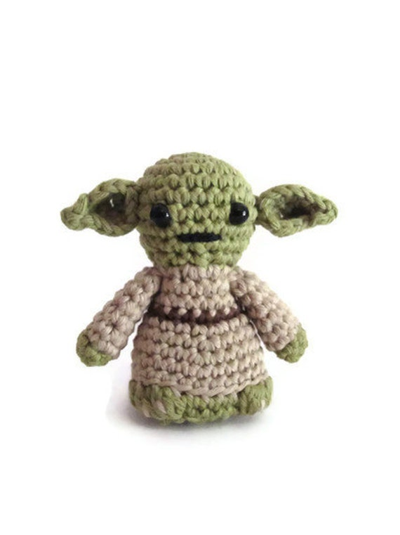 Superhero Amigurumi Pattern Free : Yoda inspired amigurumi. Star Wars Softy. Star wars crochet