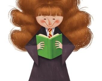 Hermione, 8.5x11 print