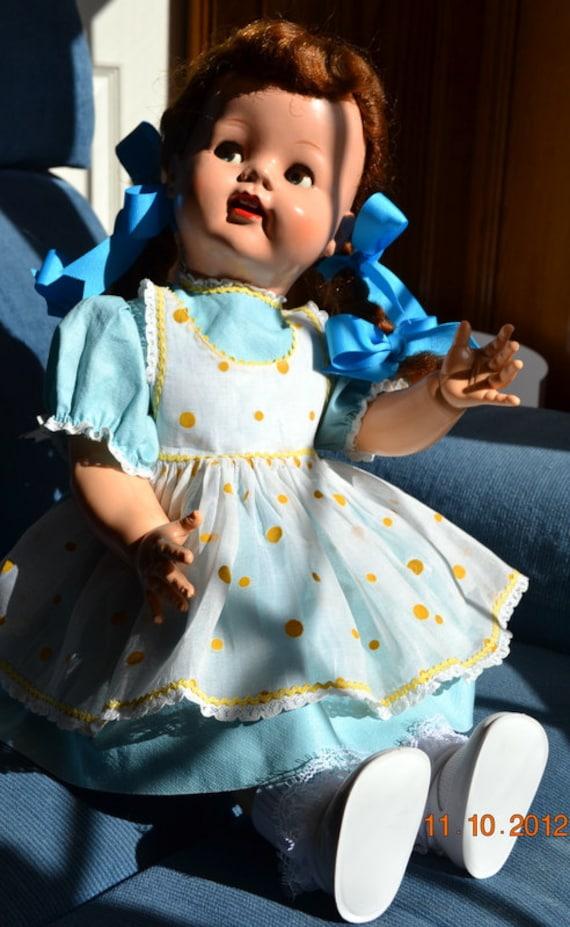 1950 S Saucy Walker 22 Inch Walking Doll With Flirty Eyes
