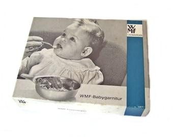 WMF Cromargan baby garnitur