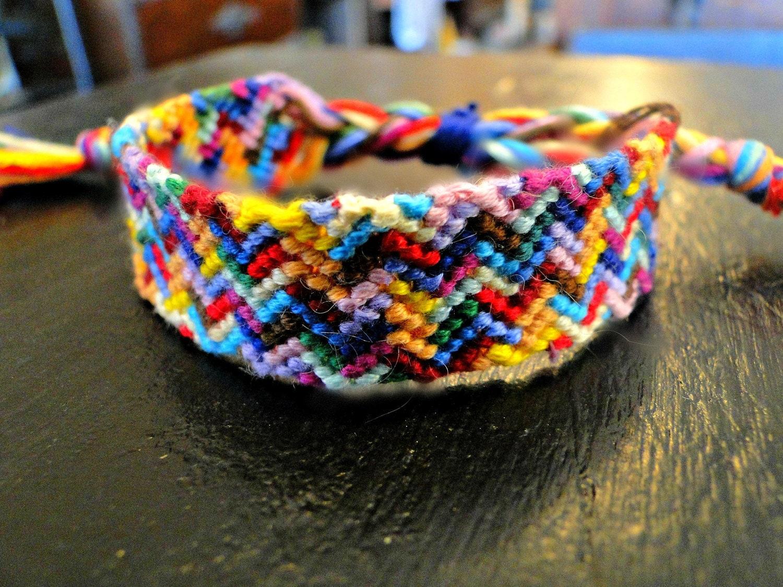Chevron bracelet -  Zoom