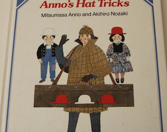 Anno's Hat Tricks, Mitsumasa Anno picture book, 1985 UK first edition
