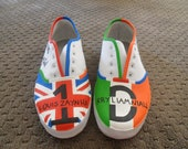 Hand Painted One Direction Shoes