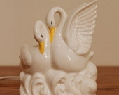 Retro Swan Miniature Lamp