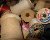 Wooden Spools - Reserved for Sharyn