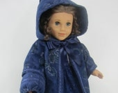 10% Off - 18 Inch Doll Clothing for American Girl Dolls - A Coat and Muff for Cecile, Marie-Grace, Addy, or Kirsten