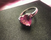 Pink Heart Ring Size10