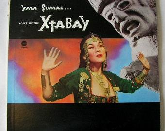 Yma Sumac, Voice of the Xtabay, 1950, Peruvian Exotica Singer, 1980s Reissue LP Record Album plus