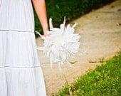 Feather bouquet - Wedding bouquet, Bridal Party bouquets, Bird lovers, Nature inspired, Bride bouquet