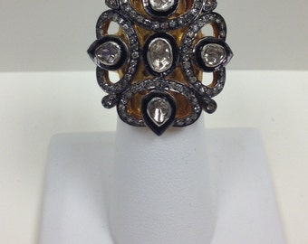Sale Ring Polki Diamond Ring
